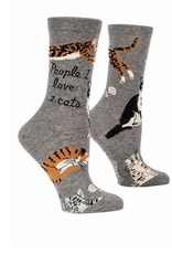 People I Love: Cat Women's Crew Socks