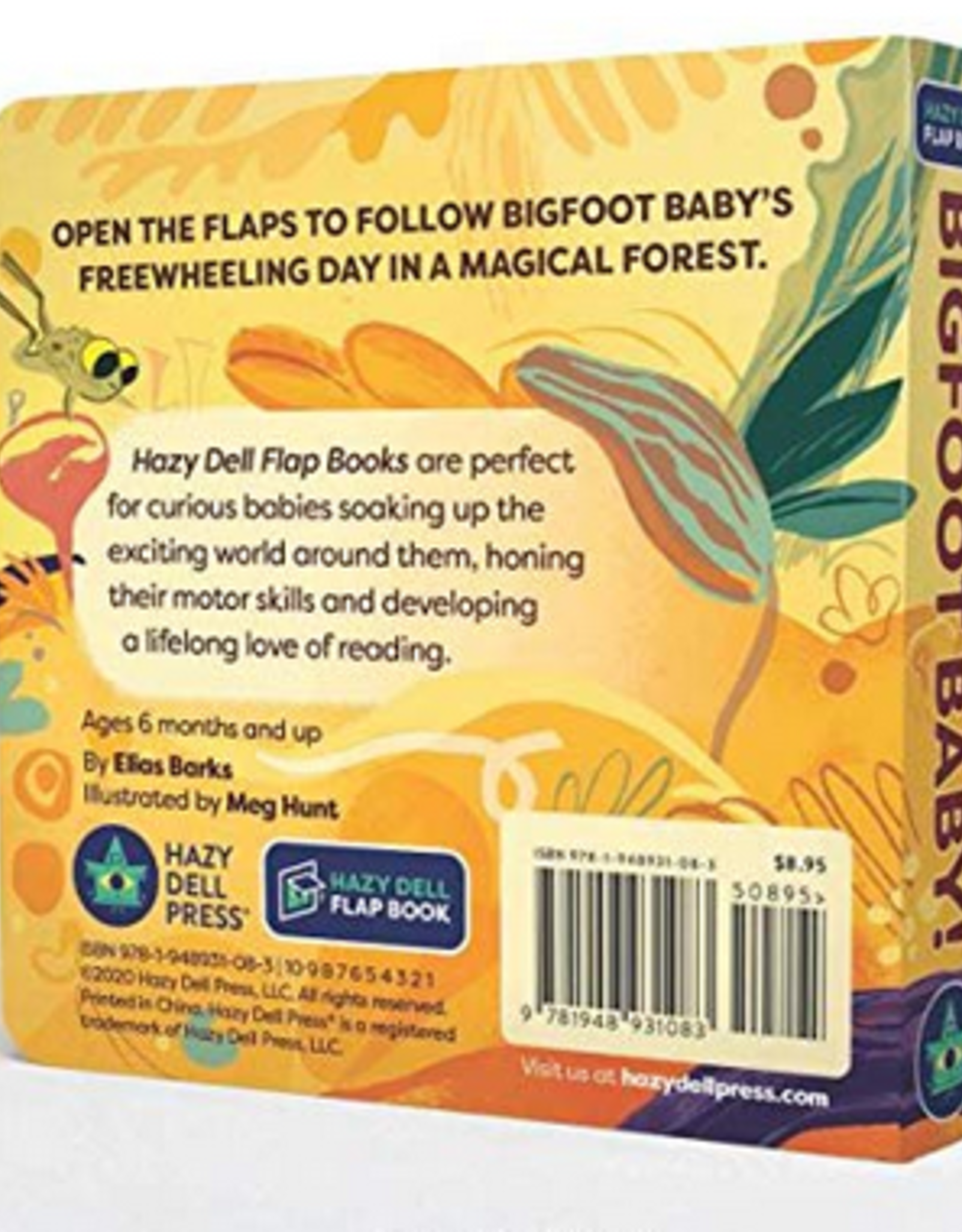 Hazy Dell Press Bigfoot Baby