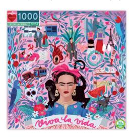 eeBoo Viva La Vida Frida1000 Piece Puzzle