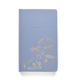 DesignWorks Ink Ready to Rock Cloth Journal - Blue