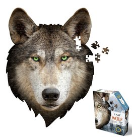 Madd Capp Puzzles I Am Mini Wolf 300 Piece Puzzle