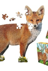 Madd Capp Puzzles I Am Lil' Fox 100 Piece Puzzle