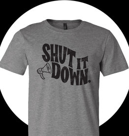 Frog & Toad Press Shut It Down T-Shirt - PRE ORDER