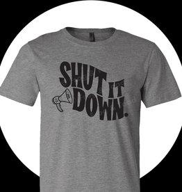 Frog & Toad Press Shut It Down T-Shirt