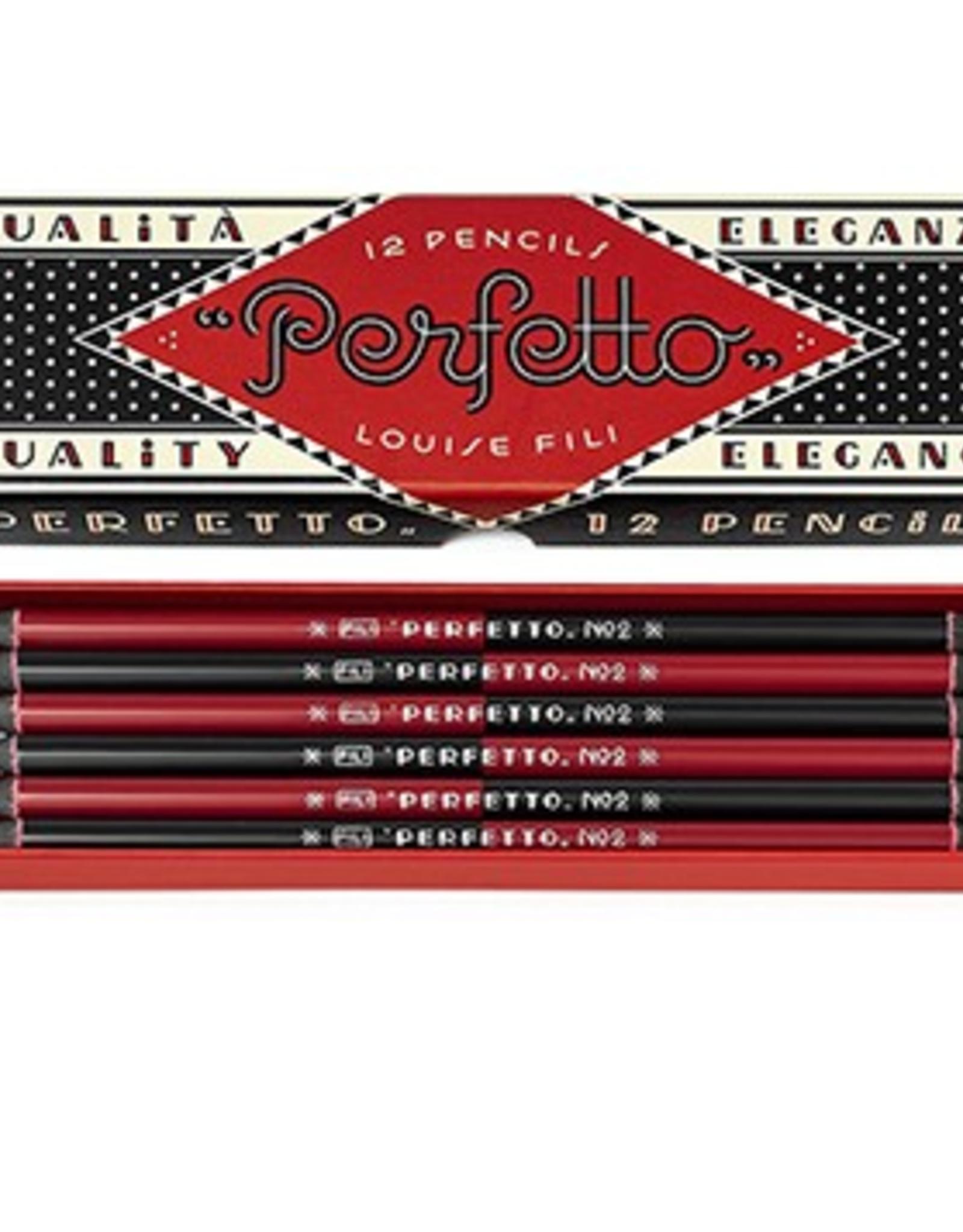 Perfetto Pencils - Louise Fili (Set of 12)