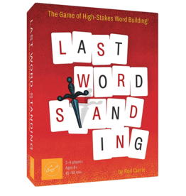 Chronicle Books Last Word Standing Game