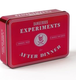 Chronicle Books Dangerous Experiments for After Dinner