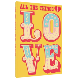 Chronicle Books All The Things I Love Journal