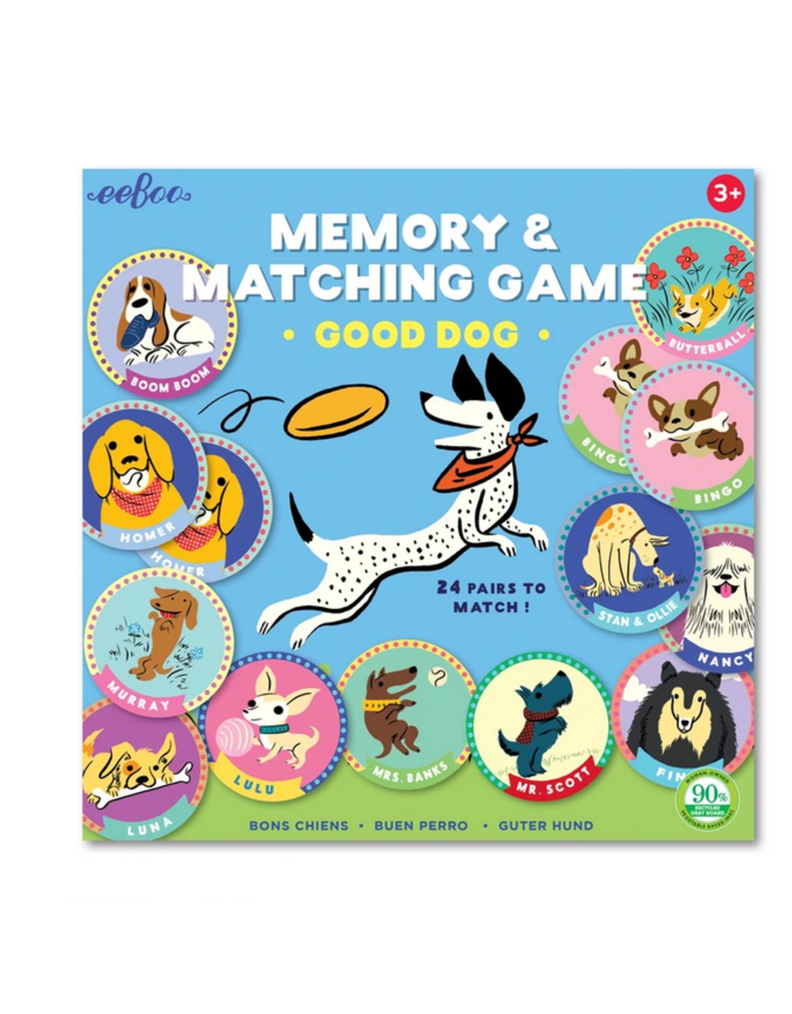 eeBoo Good Dog Matching & Memory