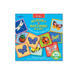 Mini Memory Game - Bugs & Butterflies