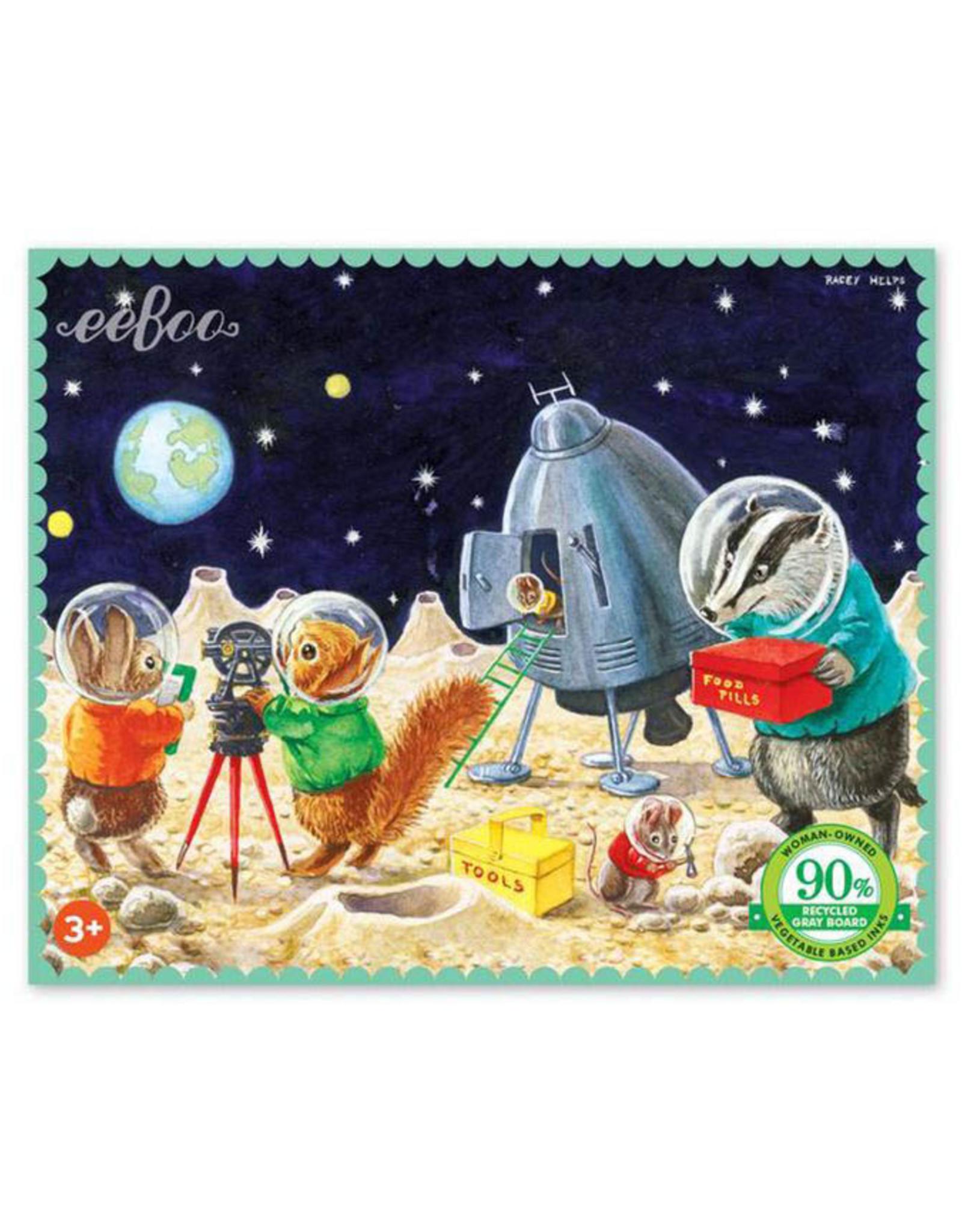 Landing On The Moon 36 Piece Mini Puzzle