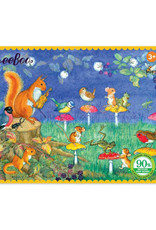 Musical Chairs 36 Piece Mini Puzzle