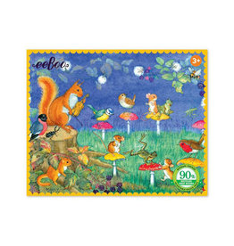 eeBoo Musical Chairs 36 Piece Mini Puzzle