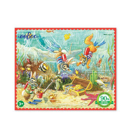 eeBoo The Treasure Chest 36 Piece Mini Puzzle