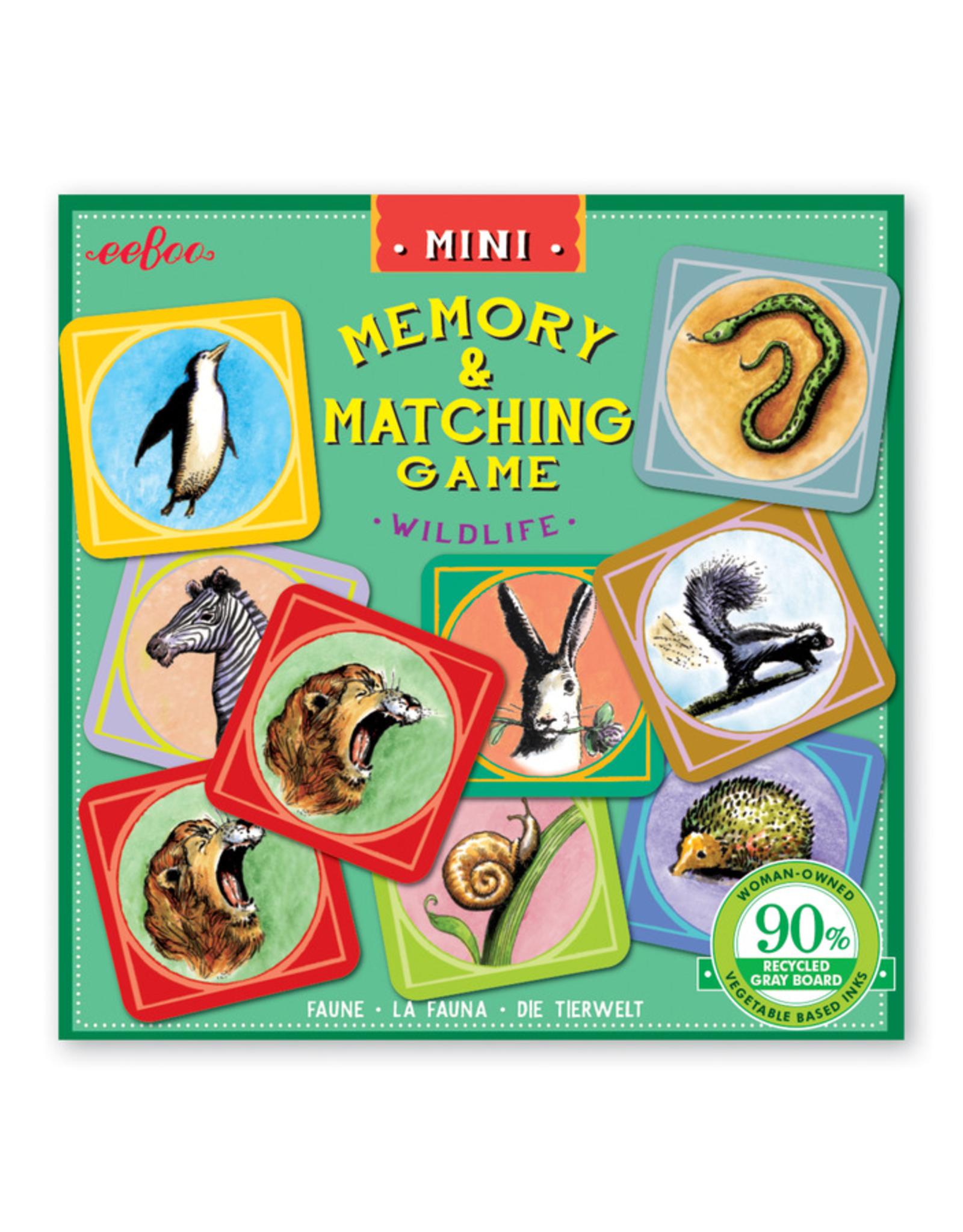 Mini Memory Game - Wildlife