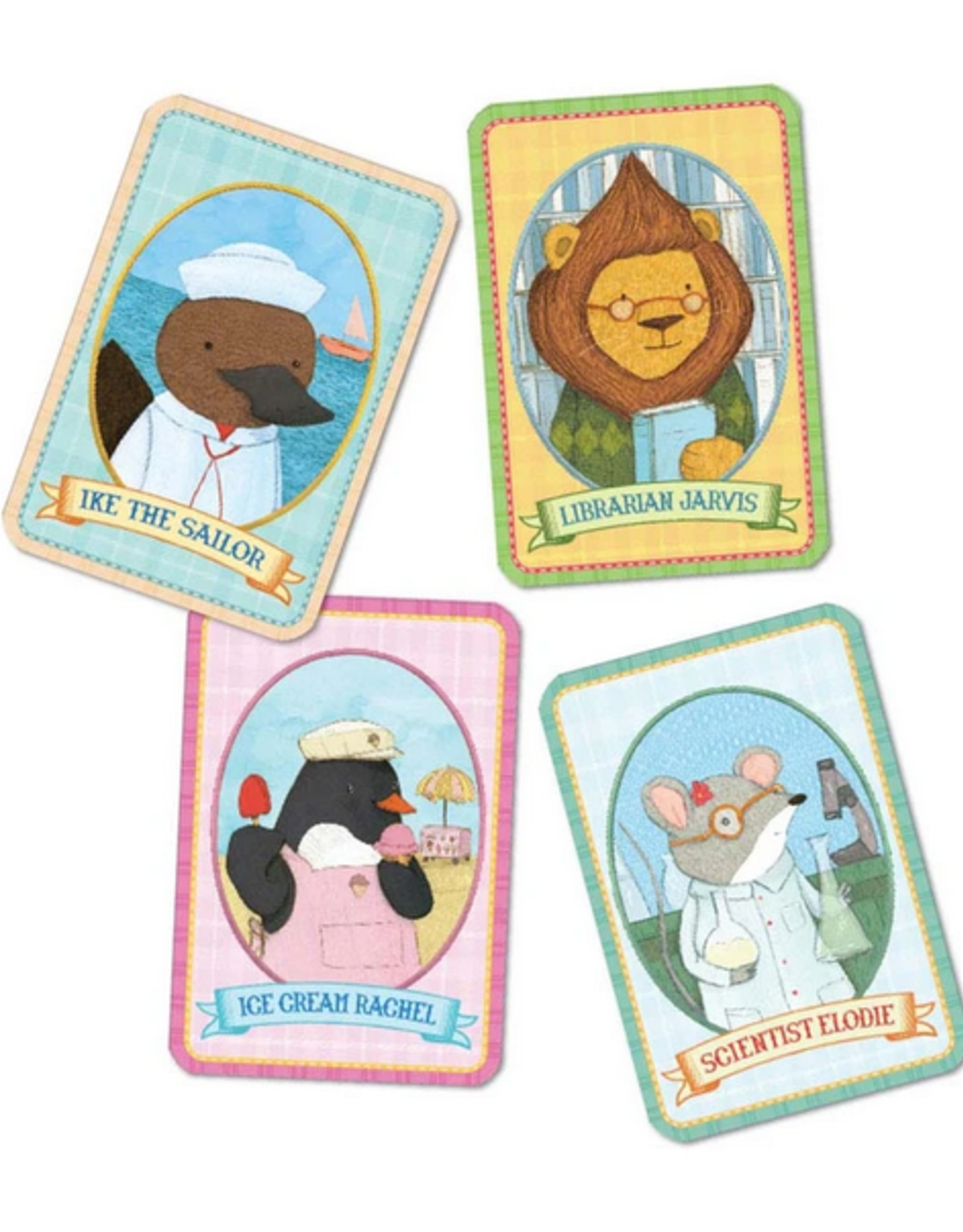 eeBoo Animal Old Maid Playing Cards