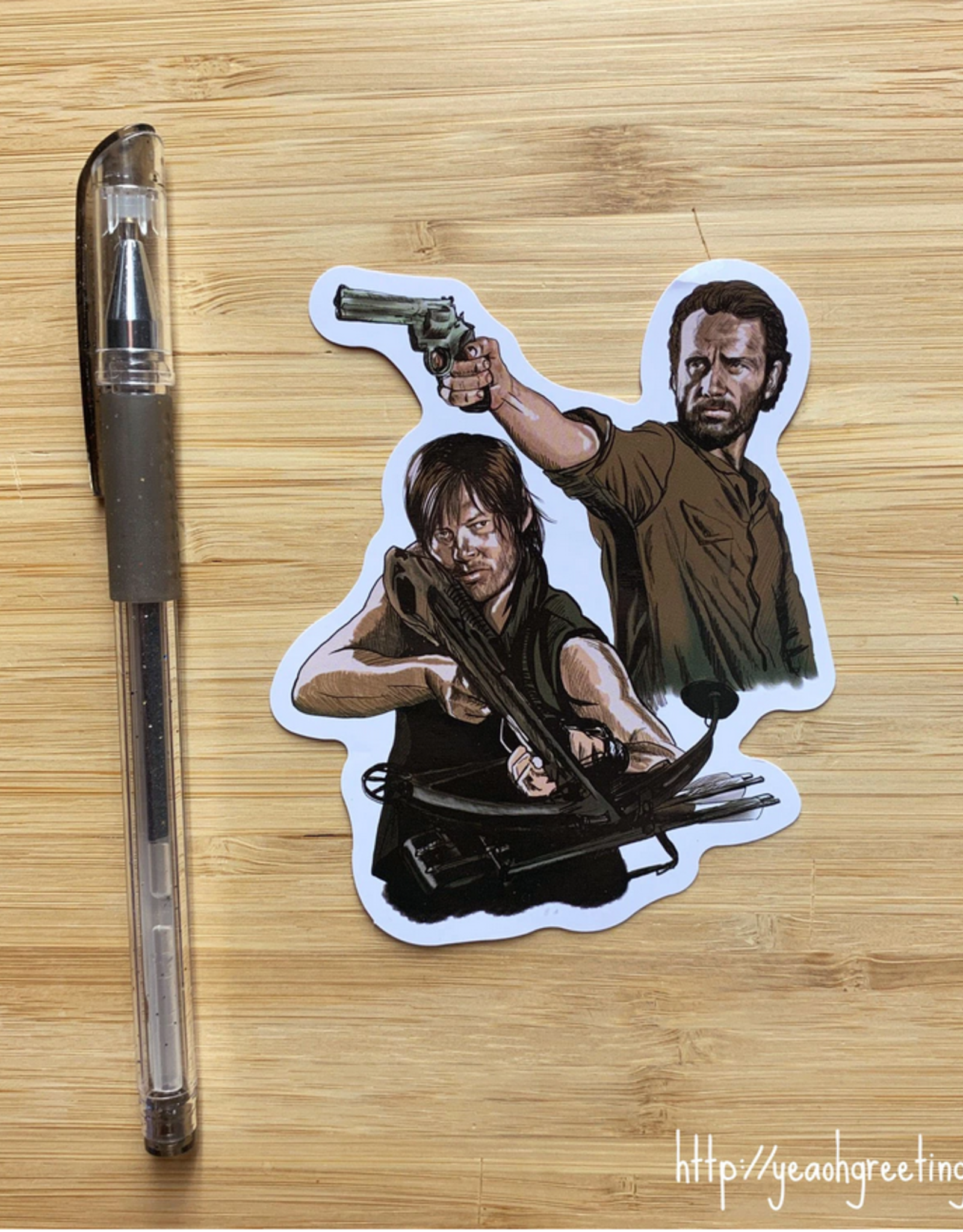 Walking Dead Sticker