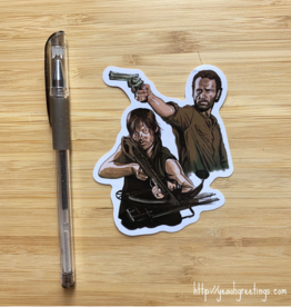 Walking Dead Sticker