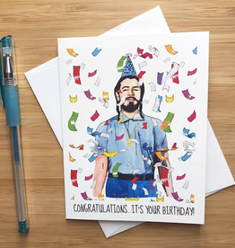 Post Malone Birthday Greeting Card