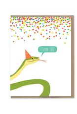 SSSurprise Snake Birthday Card