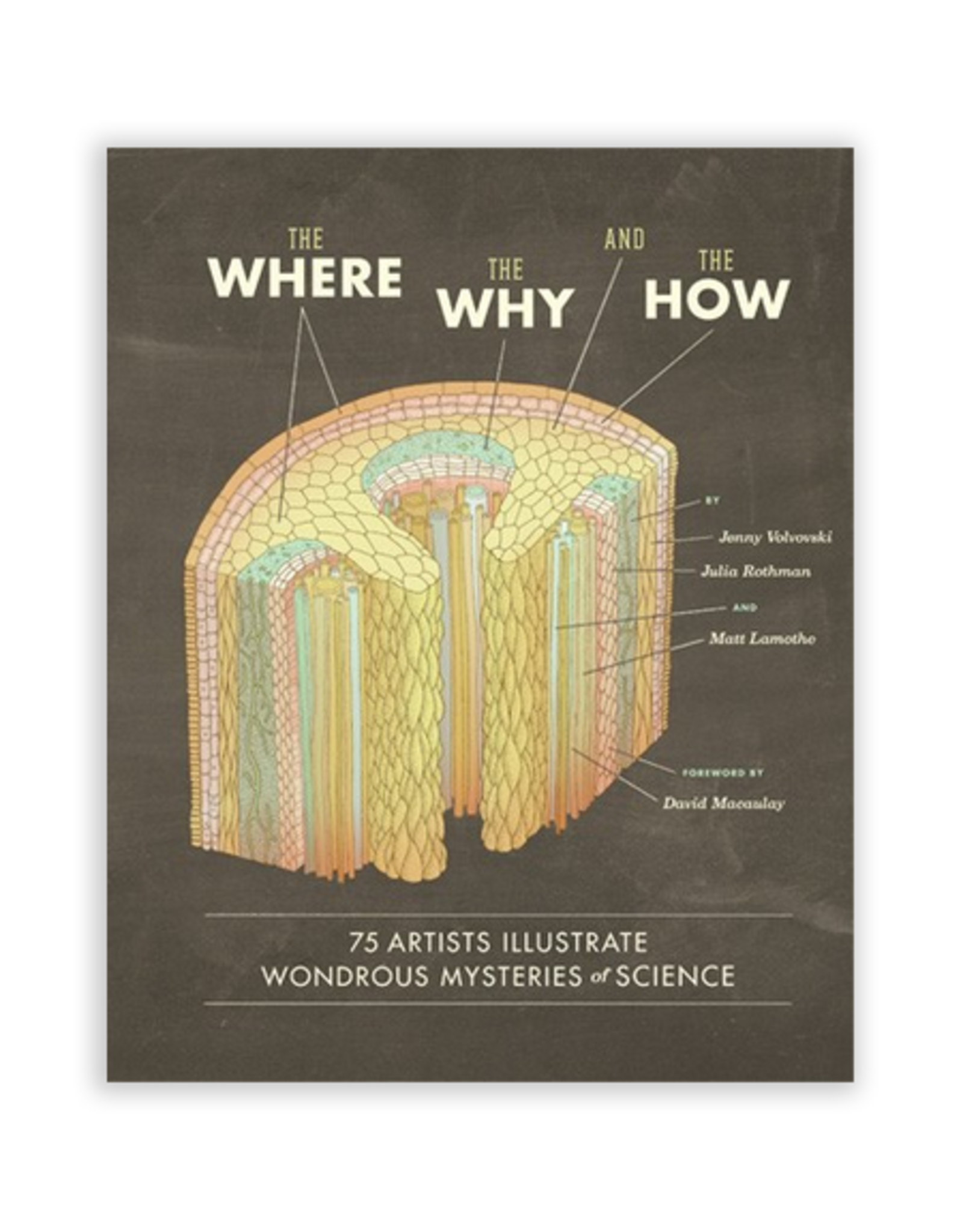 The Where, The Why and The How - 75 Artists Illustrate Wondrous Mysteries of Science
