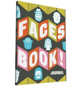 Chronicle Books Sukie Faces Book! Journal