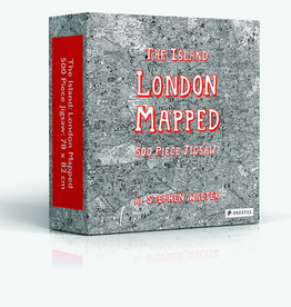 The Island London Mapped 500 Piece Puzzle