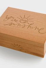 You Are My Sunshine Wood Box