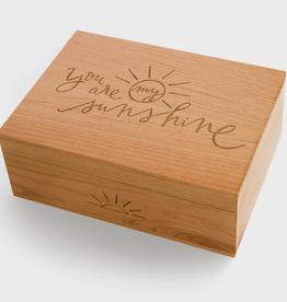 You Are My Sunshine Wood Box