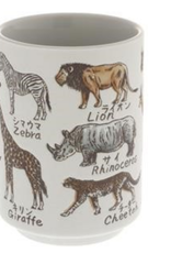 Saki Cup - African Animals