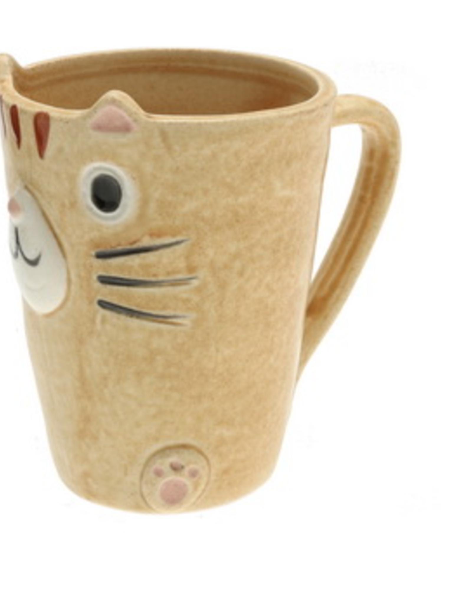 Caramel Tabby Cat Slim Mug