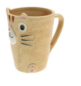 Kotobuki Caramel Tabby Cat Slim Mug