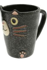 Black Cat Slim Mug