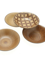 Kyo Modern Sepia 6-3/4 Bowl Set of 4