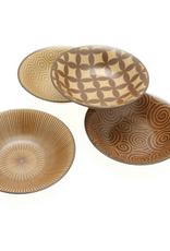 Kyo Modern Sepia Bowl Set of 4