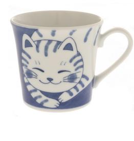 Kotobuki Affectionate Tabby Cat Mug
