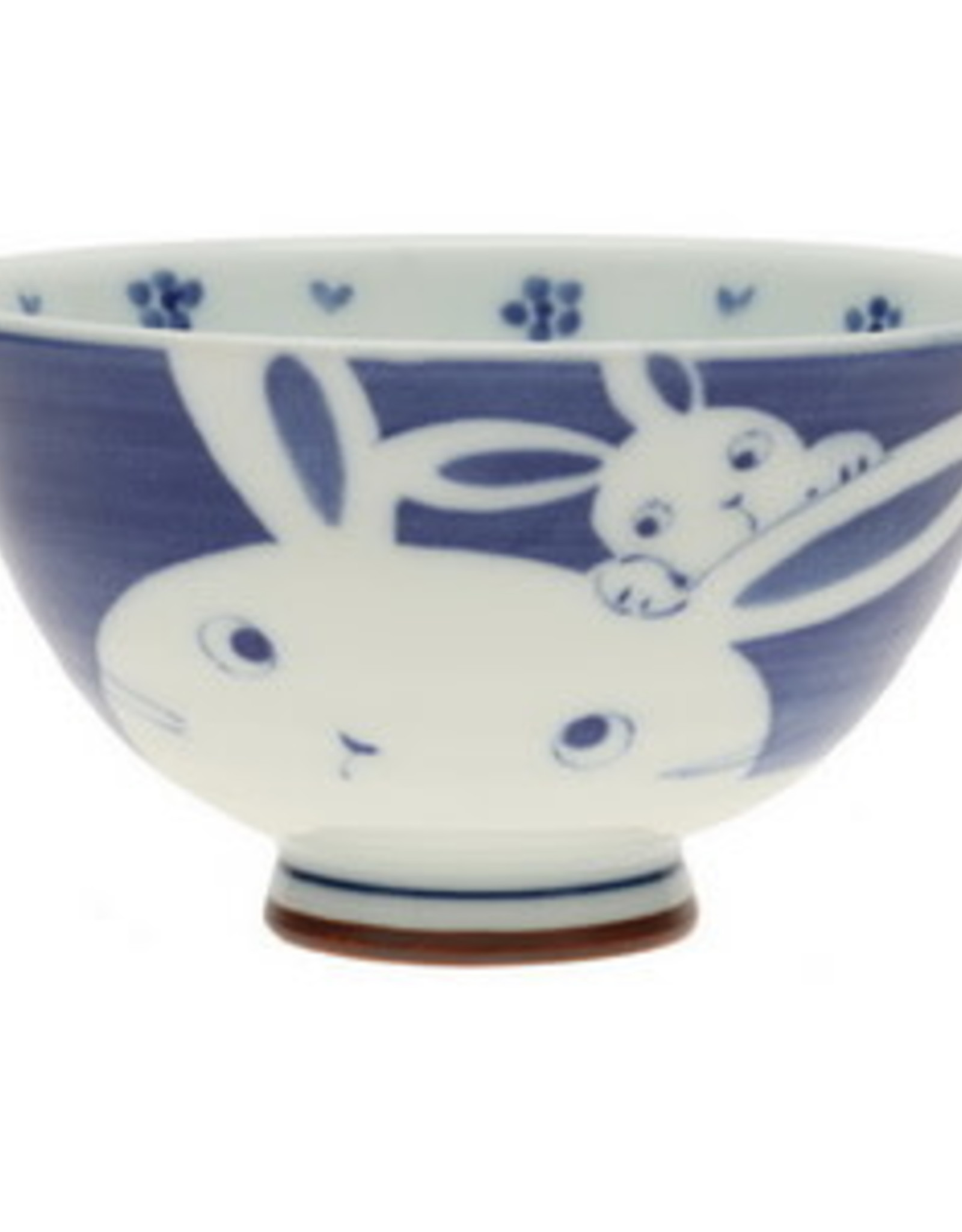 Navy Mother Bunny Rice Bowl