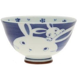 Kotobuki Navy Mother Bunny Rice Bowl