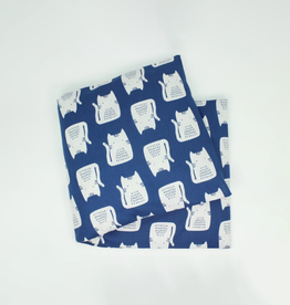 Dana Herbert Accessories Lavender Large Heat Wrap : Blue Cat