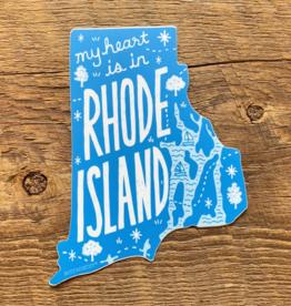 Rhode Island State Sticker