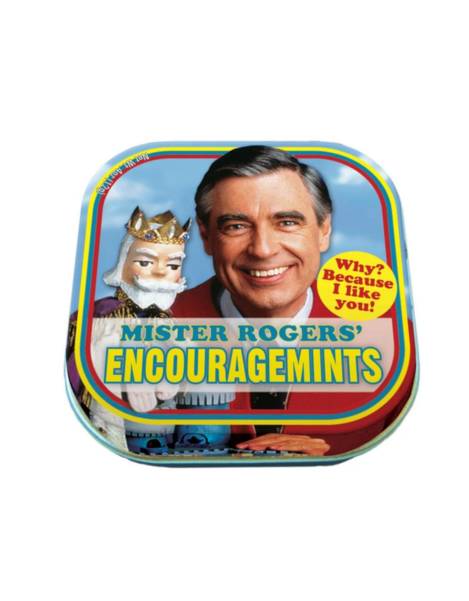 The Unemployed Philosopher's Guild Encouragemints Mister Rogers