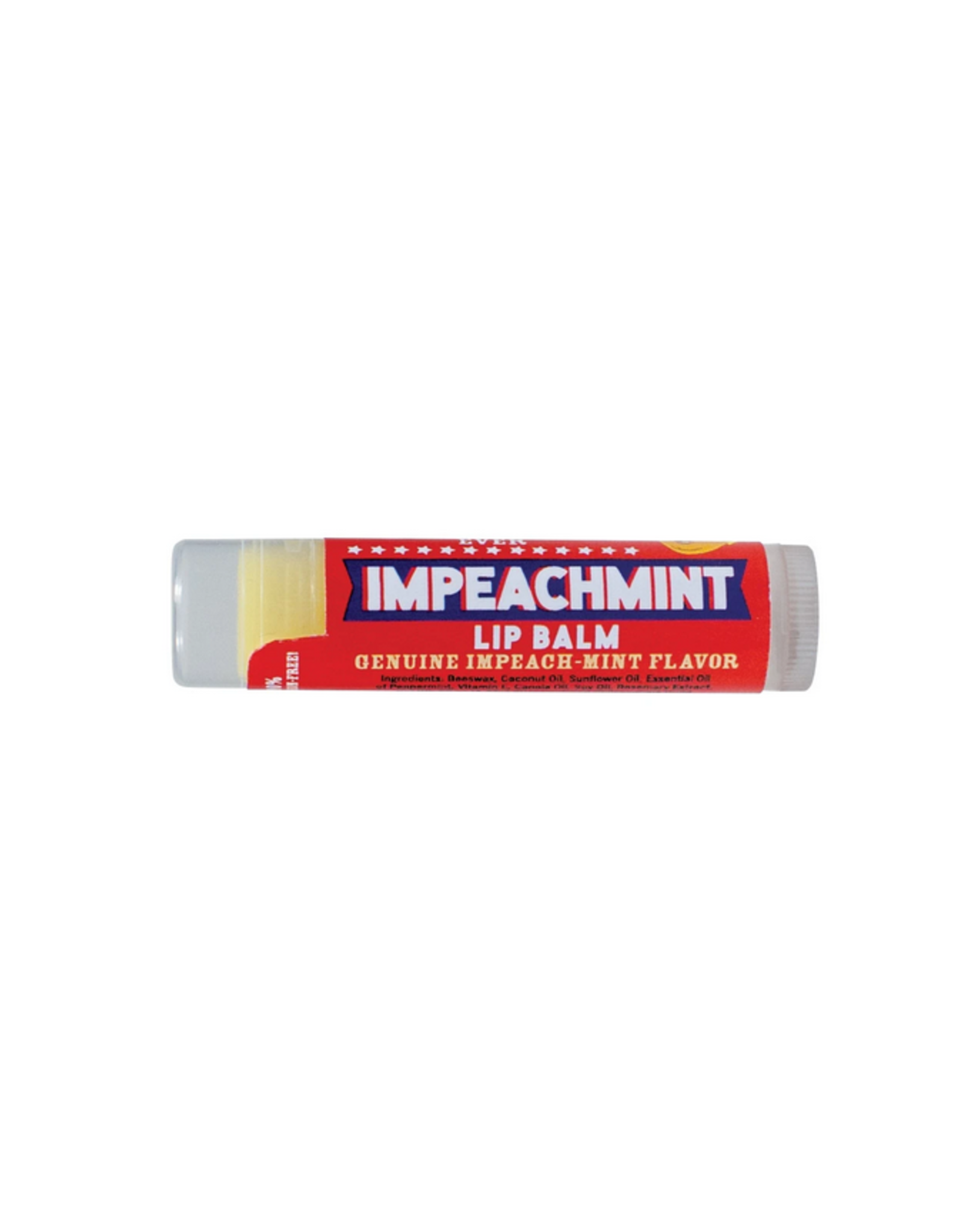 The Unemployed Philosopher's Guild Impeachment Lip Balm