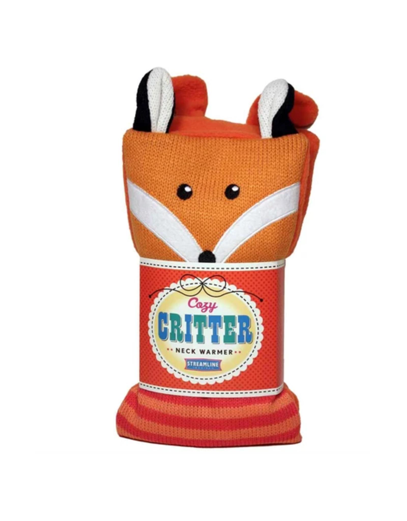 Fox Cozy Critter Herbal Neck Warmer
