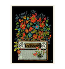 Flower Radio Print