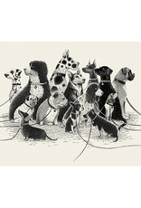 Dogs Waiting Print