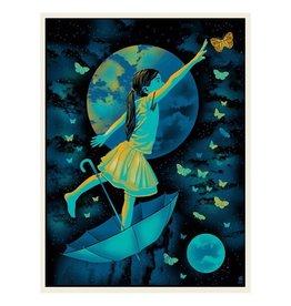 Ruby Moon Print