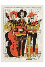 Nashville Band Print