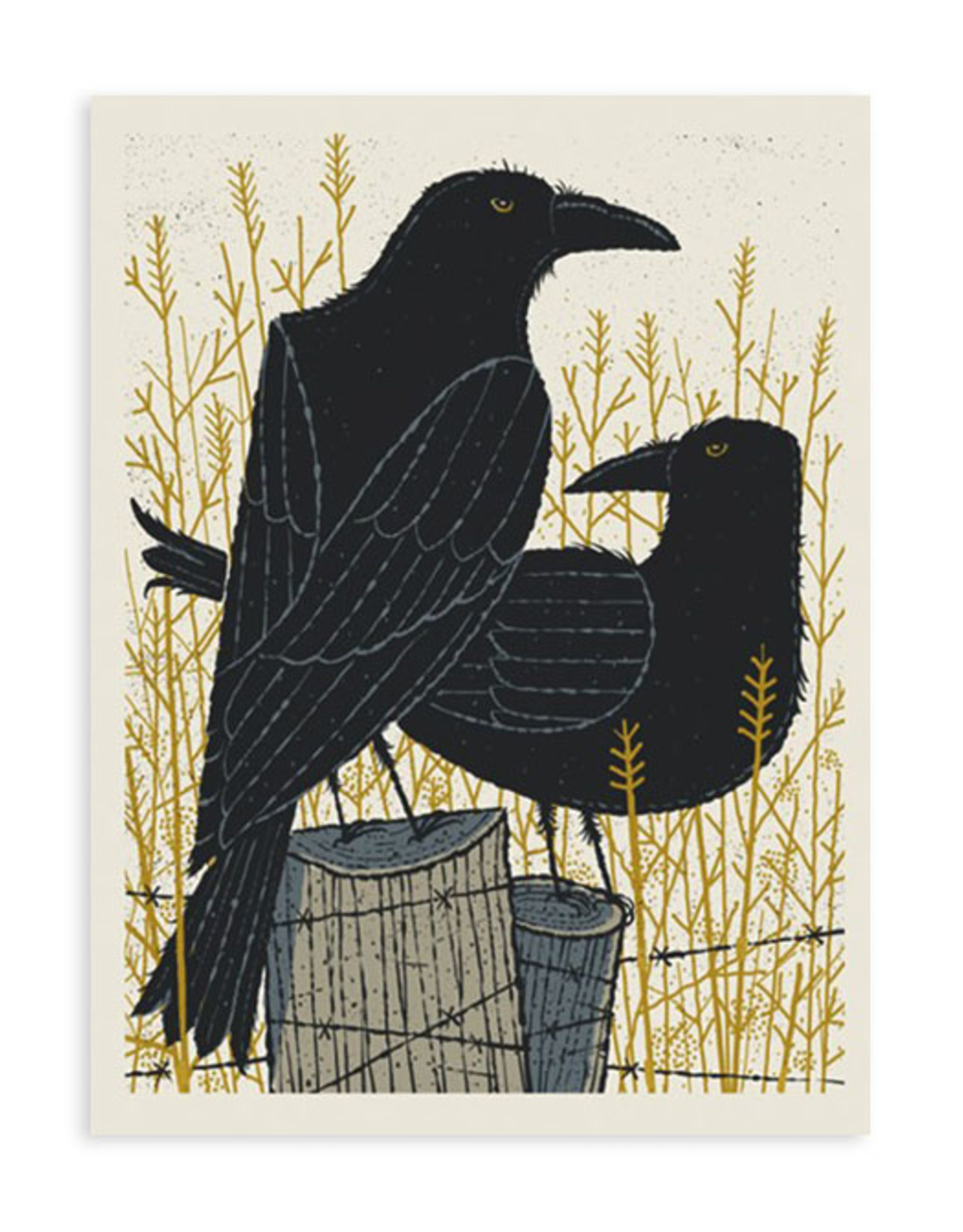 Two Crows Print