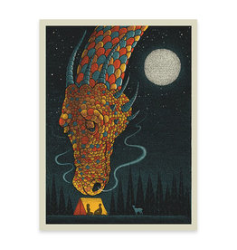 Dragon Moon Print