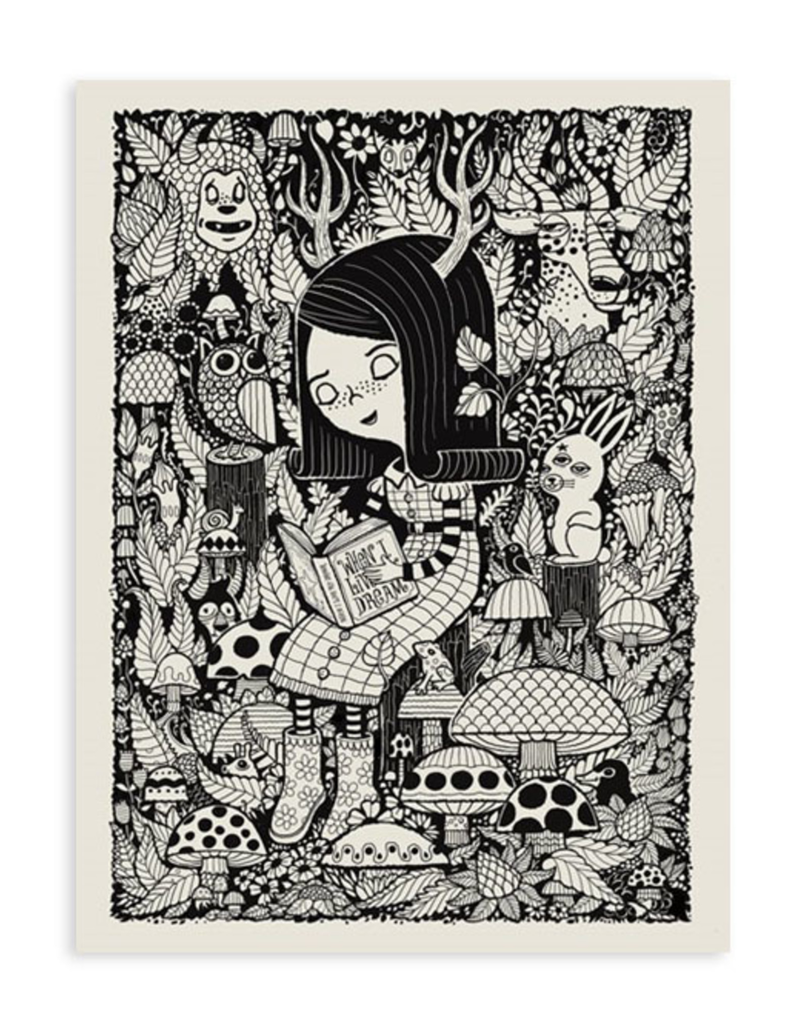 Woodland Creatures Print